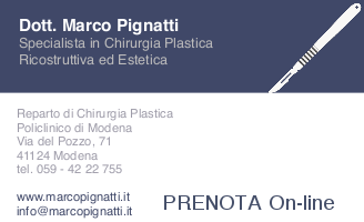 PRENOTAZIONI Dott. Marco Pignatti Modena