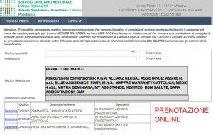 Prenotazione Online Marco Pignatti